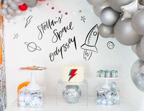 3. Temas de festa infantil Astronautas – Por: Pinterest