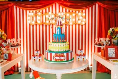 1. Temas de festa infantil: Circo! – Por: Lápis de Mãe