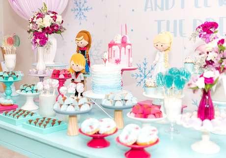 15. Temas de festa infantil Frozen – Por: Petite Partie