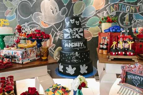 12. Temas de festa infantil do Mickey – Por: Studio Gamarano