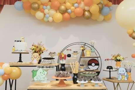 40. Temas de festa infantil pokemon – Por: Petite Partie