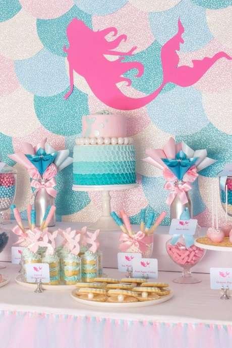 30. Temas de festa infantil sereia – Por: Pinterest