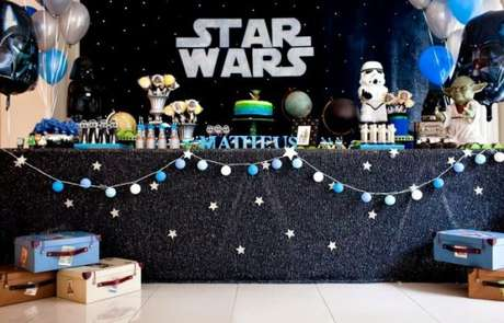 17. Temas de festa infantil Star Wars – Por: Pinterest