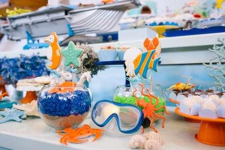 31. Temas de festa infantil Fundo do mar – Por: Jazz Assessoria