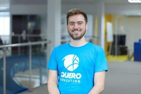 O CEO da Quero Educação, Bernardo de Pádua