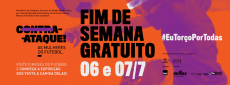 Museu do Futebol terá debate na exposição Contra-Ataque - As Mulheres do Futebol (Foto:Divulgação)