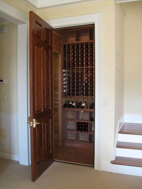 66. Mini adega de madeira para vinhos – Por: Viva Decora