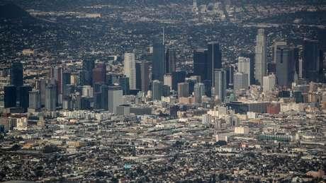 Terremoto a partir da área sul da falha de San Andreas teria um impacto direto em Los Angeles, a segunda mais populosa cidade dos EUA