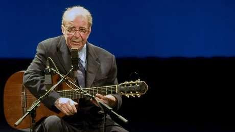 João Gilberto em 2008, ano em que fez suas últimas apresentações; artista nasceu na Bahia e morreu no Rio, aos 88 anos