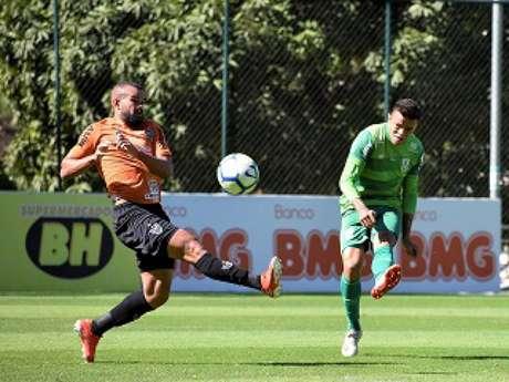 O Coelho bateu o seu grande rival em menos de uma semana, ao superar o Galo por 3 a 1- (Divulgação/América-MG)