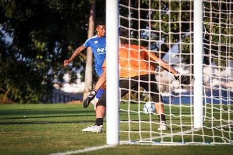 Foi o último trabalho com adversários externos antes do retorno ao calendário oficial do clube- (Vinnicius Silva/Cruzeiro)