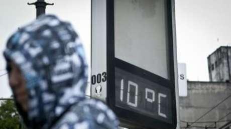 Fim de semana em São Paulo foi um dos mais frios do ano