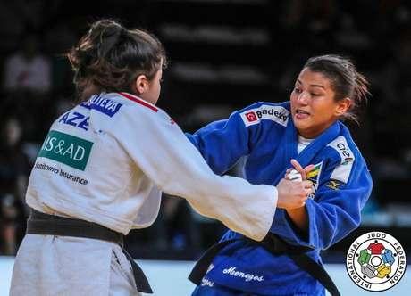 Sarah Menezes conquistou um bronze no Circuito Mundial de Judô no Canadá