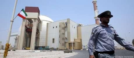 Instalação nuclear de Bushehr, no sul do Irã