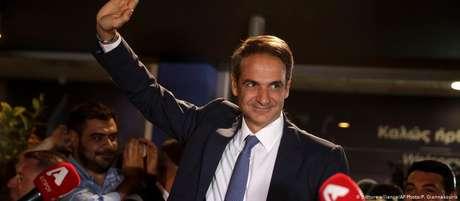 """Kyriakos Mitsotakis: """"A partir de hoje começa uma nova, mas bonita luta"""""""