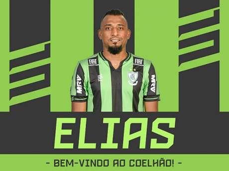 Elias assinou com o América-MG até o fim da temporada 2019- (Divulgação/América-MG)