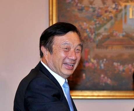 O CEO e fundador da Huawei, Ren Zhengfei. Fonte: CNBC/Reprodução