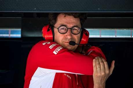 Binotto imagina que a Ferrari terá dificuldades em Silverstone