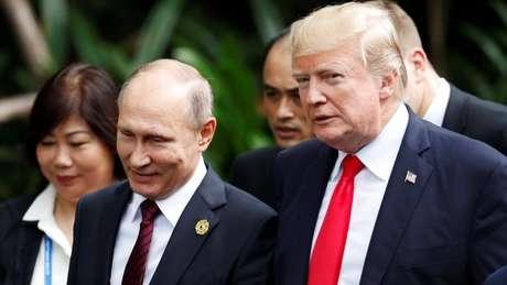 Ao falar sobre as suspeitas de conluio entre russos e a equipe de Trump na eleição presidencial de 2016, o embaixador britânico disse que 'o pior não pode ser descartado'