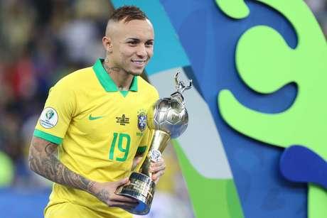 Éverton foi artilheiro da Copa América