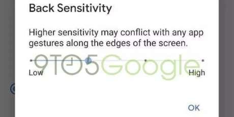 Novo ajuste das configurações do Android. (Fonte: 9to5Google/Reprodução)