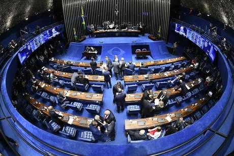 Plenário do Senado Federal; proposta foi aprovada na CCJ da Casa