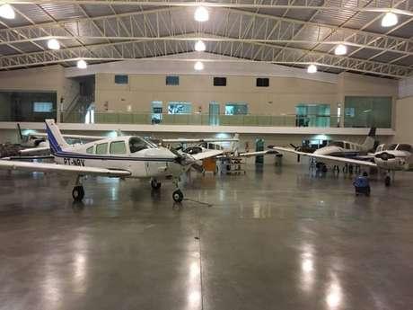 Aviões usados para transporte de droga apreendidos pela PF na Operação Flak, em fevereiro de 2019