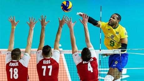 Leal tenta ataque na derrota do Brasil diante da Polônia