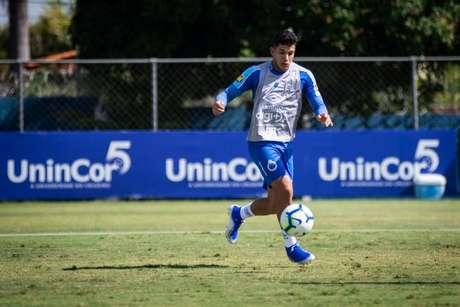 Romero virou alvo de uma das maiores equipes do seu páis de origem, mas a Raposa considerou baixa a proposta-(Bruno Haddad/Cruzeiro)