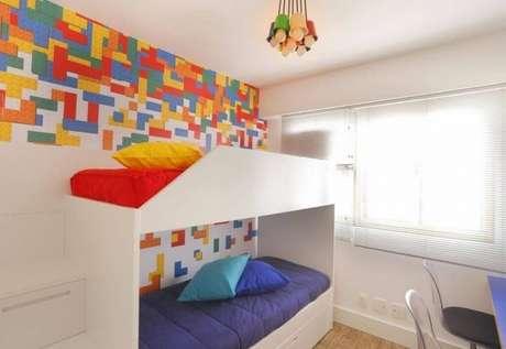 11. Cama infantil para quarto compartilhado – Por: Casa Arquit
