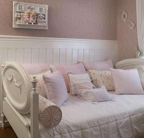 23. Cama infantil com roupa de cama infantil clássica – Por: Ittern Arquitetura