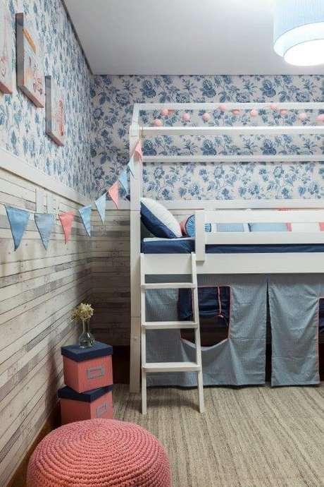 49. Cama infantil para decoração de quarto de menino e menina – Por: DD Show