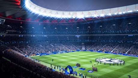 Estádio do jogo Fifa