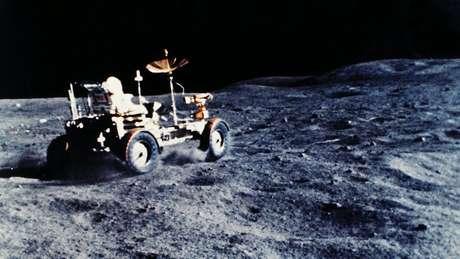 O veículo lunar foi usado em cada uma das últimas três missões Apollo