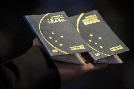 """Os campos """"genitor 1"""" e """"genitor 2"""" estão presentes no formulário de solicitação de passaporte"""