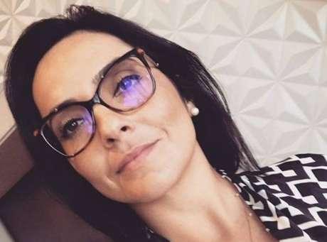 A jornalista Izabella Camargo.