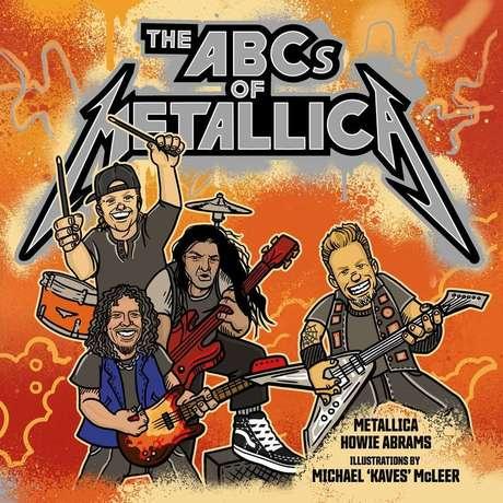 Capa de divulgação do livro infantil 'The ABCs of Metallica'