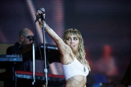 Cantora norte-americana Miley Cyrus