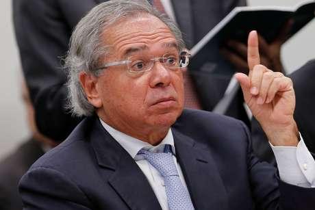 Ministro Paulo Guedes 04/06/2019 REUTERS/Adriano Machado