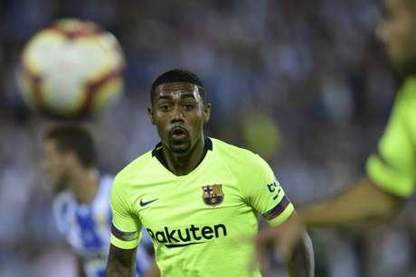 Malcom teve desempenho aquém das expectativas pelo Barcelona, na temporada (Foto: OSCAR DEL POZO / AFP)