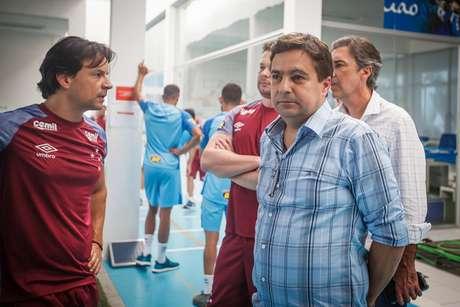 Itair Machado não poderá exercer nenhuma função no Cruzeiro até que a ordem judicial seja revertida-(Vinnicius Silva)
