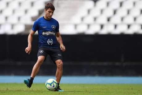 Marcinho pode aparecer na escalação de Barroca contra o Cruzeiro (Foto :Vitor Silva/SSPress/Botafogo)