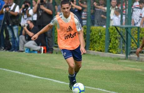 Antony é titular do São Paulo (Érico Leonan/saopaulofc.net)