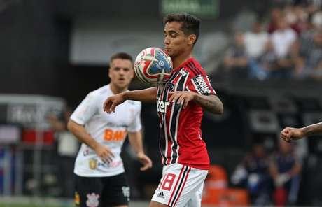 Everton Felipe agora é do São Paulo até dezembro de 2022 - FOTO: Rubens Chiri/saopaulofc.net