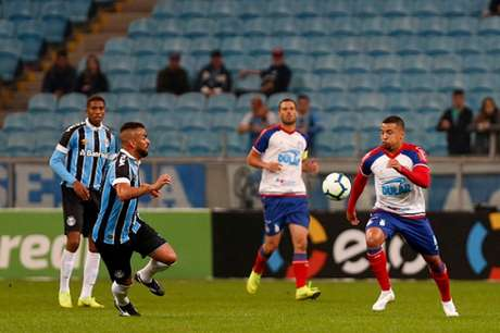 Grêmio e Bahia fizeram um bom jogo no Sul (Foto: Felipe Oliveira/EC Bahia)