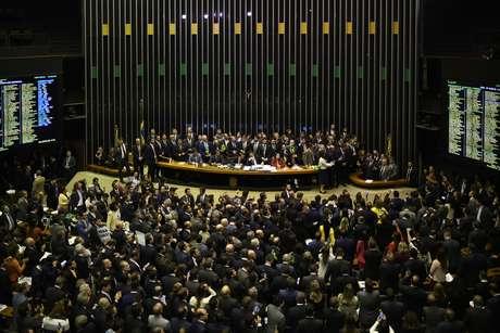 A Câmara dos Deputados aprovou em 1º turno o texto base da reforma da Previdência pelo placar de 379 votos a 131