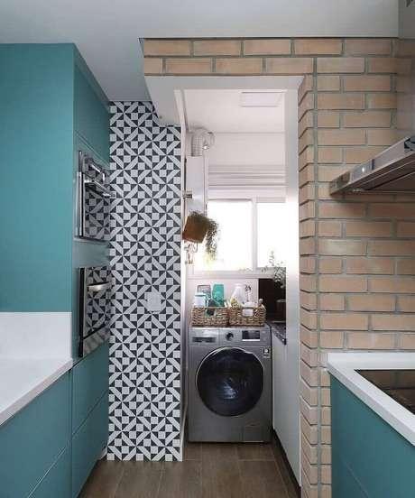 37. Faça um mix de modelos e texturas no revestimento para cozinha