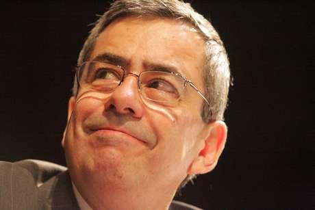 Foto de arquivo de 18 de novembro de 2005 do jornalista Paulo Henrique Amorim, que morreu na manhã desta quarta-feira, 10 de julho de 2019, no Rio de Janeiro, aos 77 anos