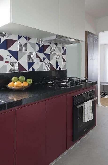 13. É importante que o revestimento para cozinha entre em harmonia com o restante da decoração
