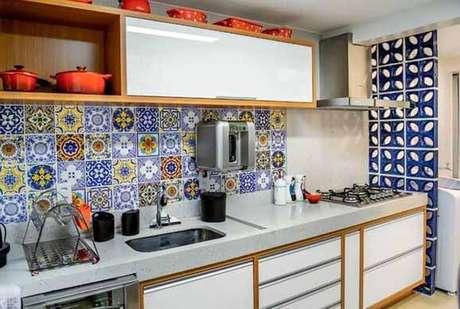 81. Conheça alguns tipos de revestimento para cozinha. Fonte: Pinterest